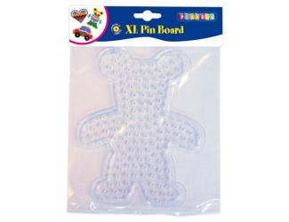 Deska pro zažehlovací korálky XL - medvídek