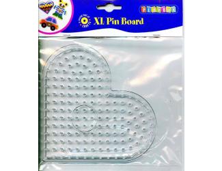 Deska pro zažehlovací korálky - srdíčko