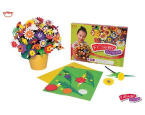 Květinové překvapení - 48 kytiček na složení