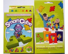 Hlavolamy 6 ks v krabičce, obtížnost 3-6 let (Smart Cube)