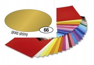Barevný papír 300g A4 - Zlatý lesklý, 1ks