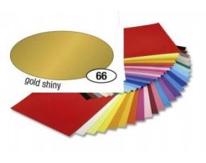 Barevný papír 130g A4 - Zlatý lesklý, 1ks