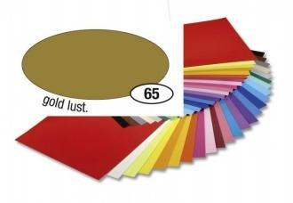 Barevný papír 130g A4 - Zlatý matný, 1ks