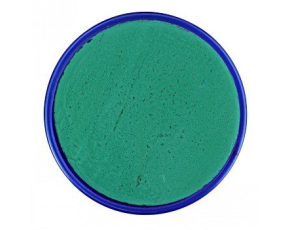 "Barva na obličej 18ml - zelená - odstín ""Teal"""