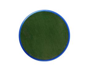 """Barva na obličej 18ml - zelená-odstín """"Dark Green"""""""