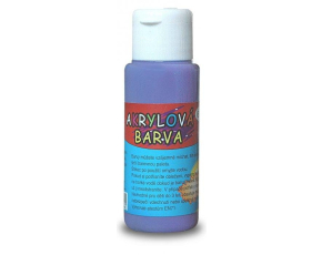 Akrylová barva 60ml - fialová (purple)
