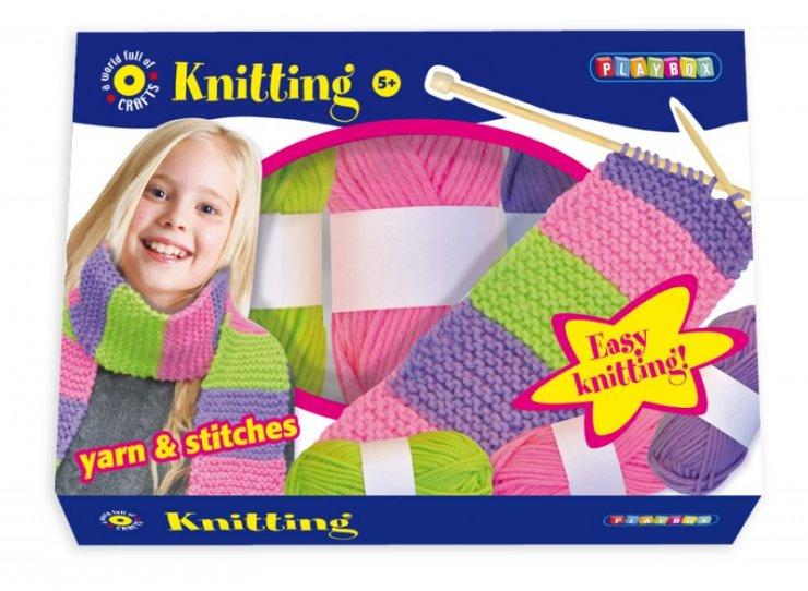 Pletení v krabici