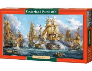 Puzzle 4000 dílků - Námořní bitva