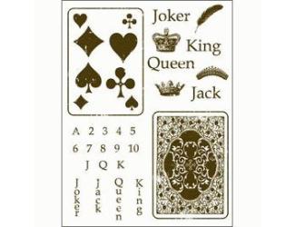 Gelová razítka - Žolíkové karty