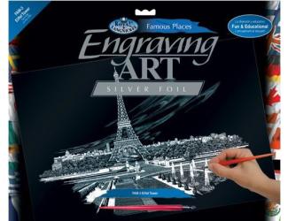 Seškrabovací obrázek- Eifellova věž