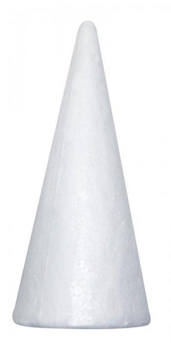 Polystyrenové kužely, 25 ks, 15 cm