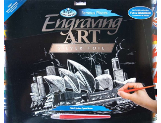 Seškrabovací obrázek- Sydney