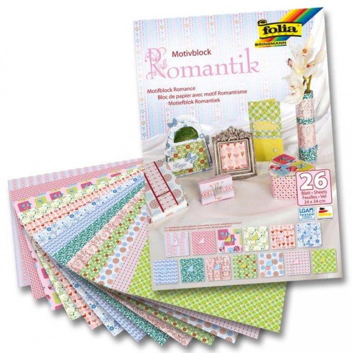 Blok s romantickými motivy, 26 listů