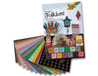 Blok s motivem folklór, 26 listů
