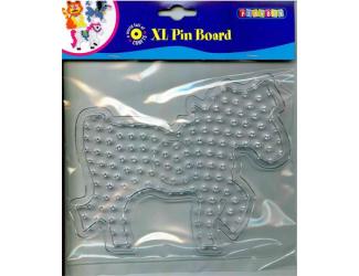 Deska pro zažehlovací korálky XL - kůň