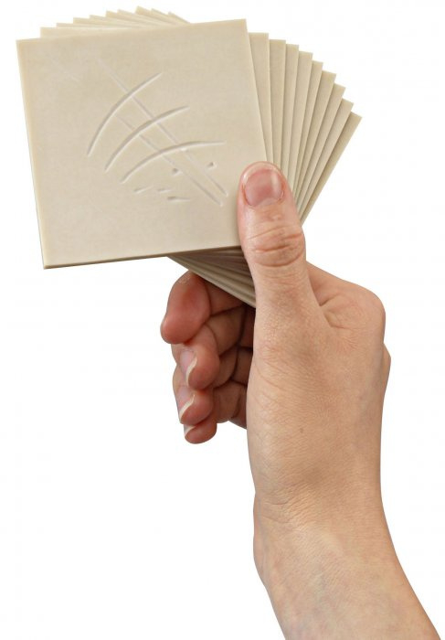 Lino Softcut 7,5 x 7,5 cm - 10 ks