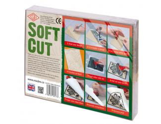 Lino Softcut  15 x 10 cm - 10 ks