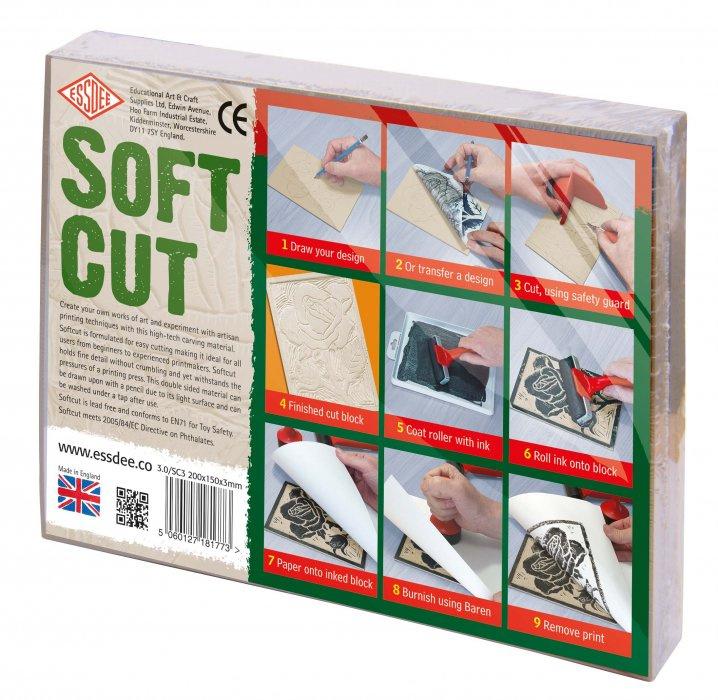 Lino Softcut 20 x 15 cm - 10 ks