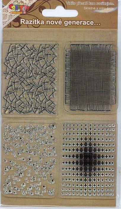 Gelová razítka - Textura