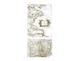 Razítka gelová - Mapa