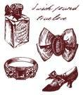 Gelová razítka - Střevíc,prsten