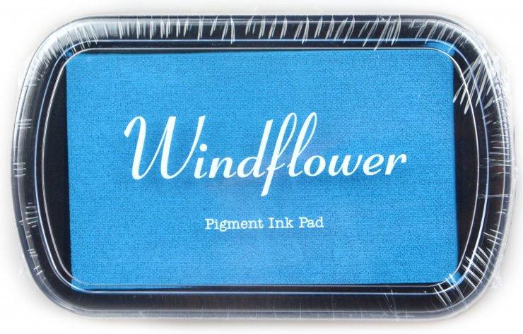 Polštářek pro razítkování na papír - Světle modrá