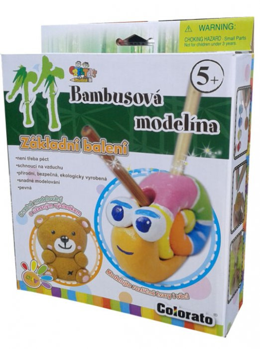 Bambusová modelína/plastelína