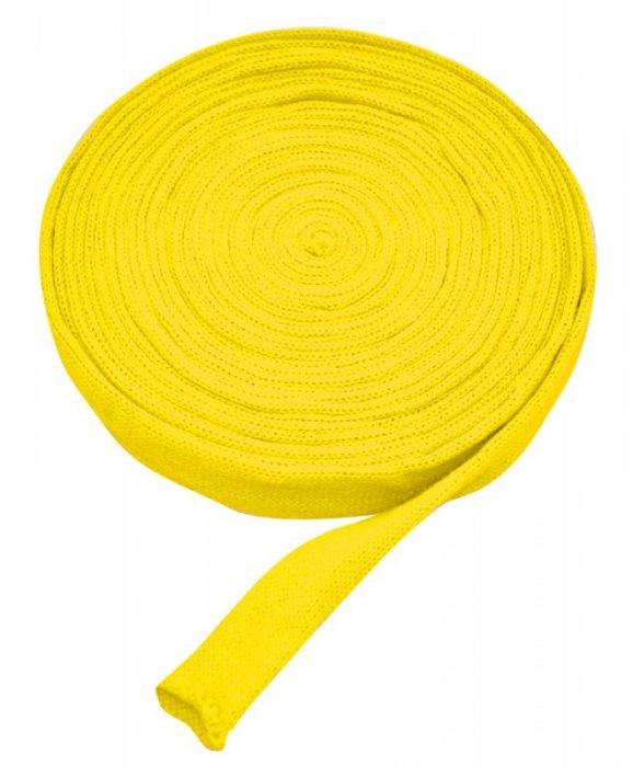 Pletený tubus 10m x 4cm žlutý