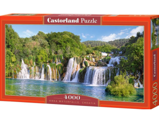 Puzzle Castorland 4000 dílků - Krka, Chorvatsko
