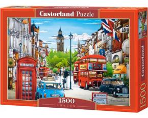 Puzzle Castorland 1500 dílků - London