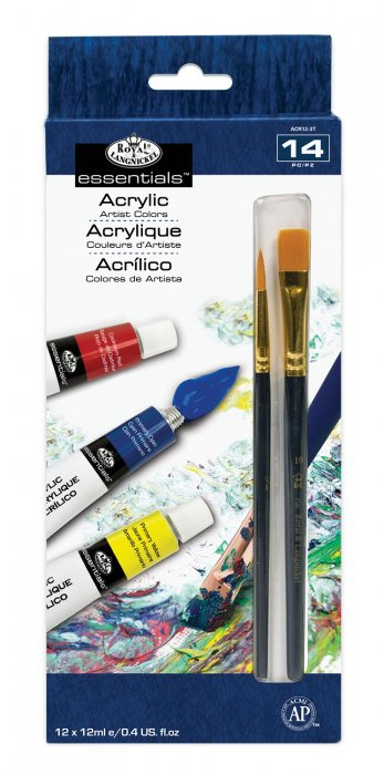 ROYAL and LANGNICKEL Akrylové barvy 12 ks á 12 ml