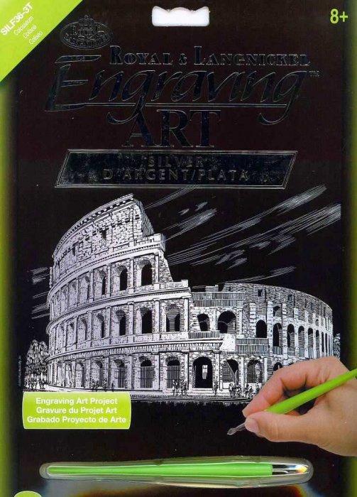 Vyškrabovací obrázek- Koloseum
