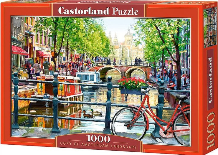 Puzzle Castorland 1000 dílků - Amsterdam