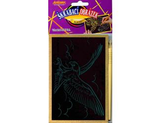 Vyškrabovací obrázky- Zlaté, v balení 24 ks, zadejte počet kusů, cena je za 1ks