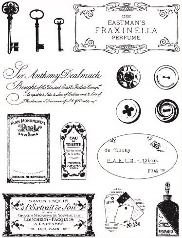 Razítka gelová - Francouzské značky