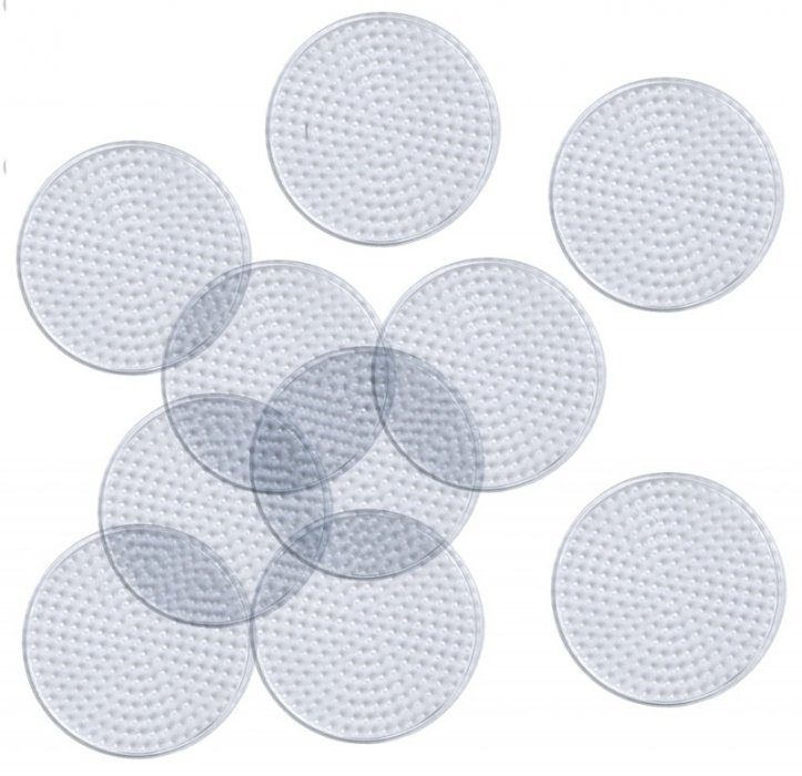Deska pro zažehlovací korálky kulatá o průměru 8cm