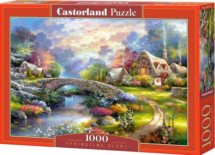 Puzzle Castorland 1000 dílků - Most v krajině
