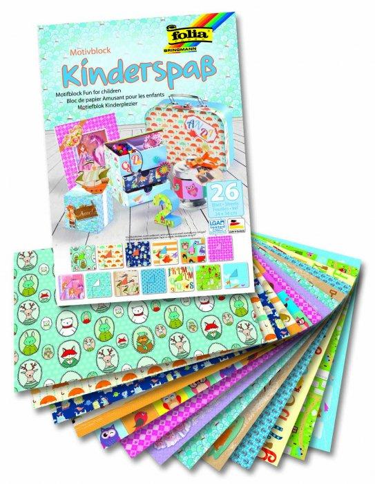 """Blok - motiv """"Kinderspass"""", 26 listů"""