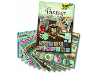 "Blok - motiv ""Vintage"", 26 listů"