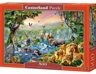 Puzzle Castorland 500 dílků - Jungle s vodou
