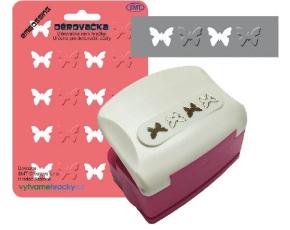Děrovačky bordura - motýli