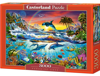 Puzzle Castorland 3000 dílků - Rajská zátoka