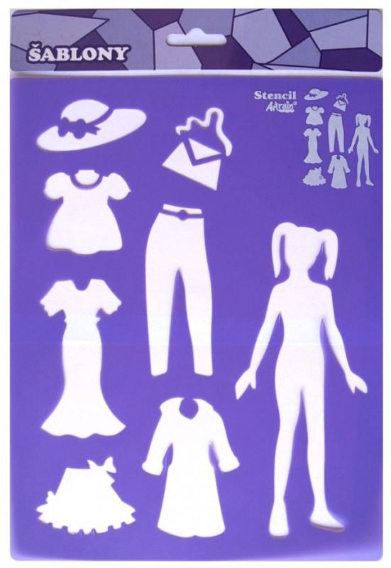 Šablona- oblékání