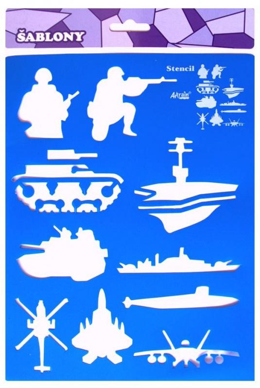 Šablona- vojáci