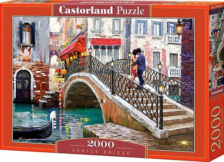 Puzzle Castorland 2000 dílků - Most v Benátkách