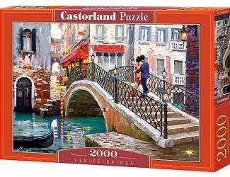 Puzzle 2000 dílků- Most v Benátkách
