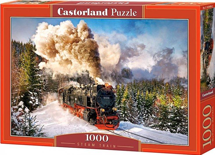 Puzzle Castorland 1000 dílků - Vlak 99236