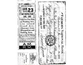 Gelová razítka - Special ticket