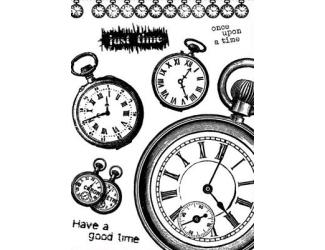 Gelová razítka - Have a good time - hodiny