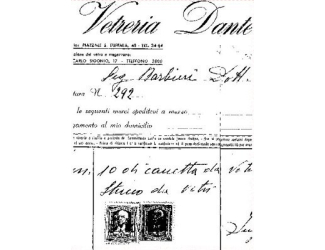 Gelová razítka - Vetreria Dante